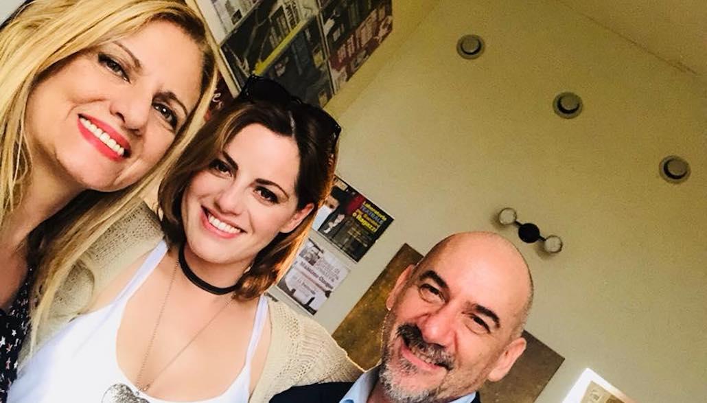 Gianna con Brigida Cacciatore e Luca Pitteri
