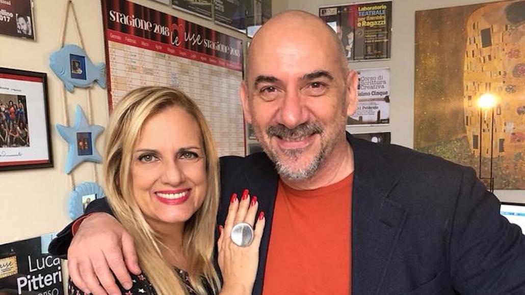 Gianna con Luca Pitteri