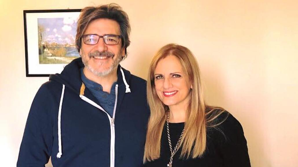Gianna con Vittorio Matteucci