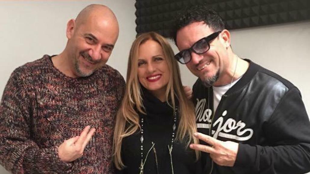 Gianna con i Maestri di Musica Luca Pitteri e Enzo Campagnoli