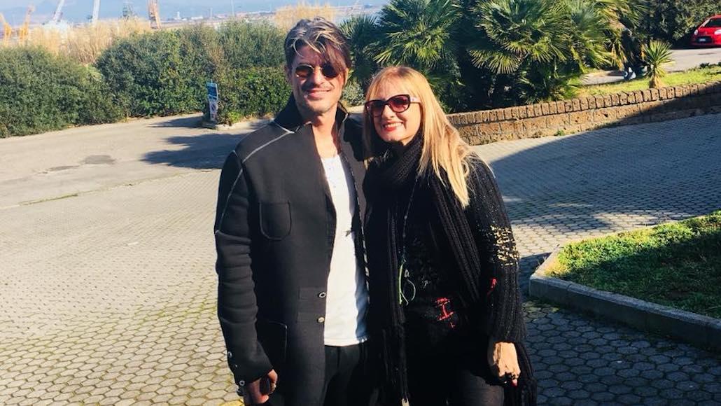 Matteo Setti è alle Muse, qui con Gianna Martorella
