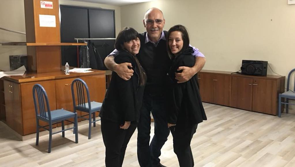 Daniele Falleri con le Allieve Noemi e Giorgia Tognoni