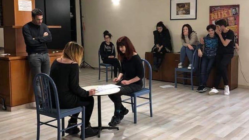 Giulia Masselli a Lezioni con Marco Falaguasta
