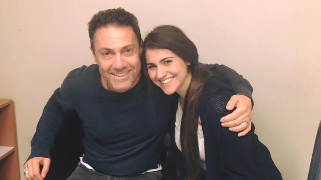 Marco Falagusta con l'Allieva Benedetta Boschi