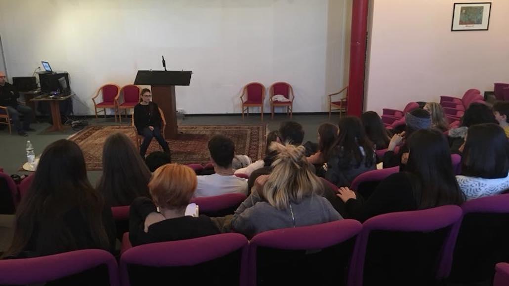 Momenti di Corso di recitazione con Georgia Lepore 2