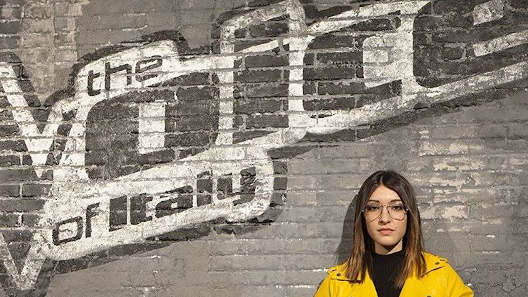 Asja Cresci a The Voice of Italy