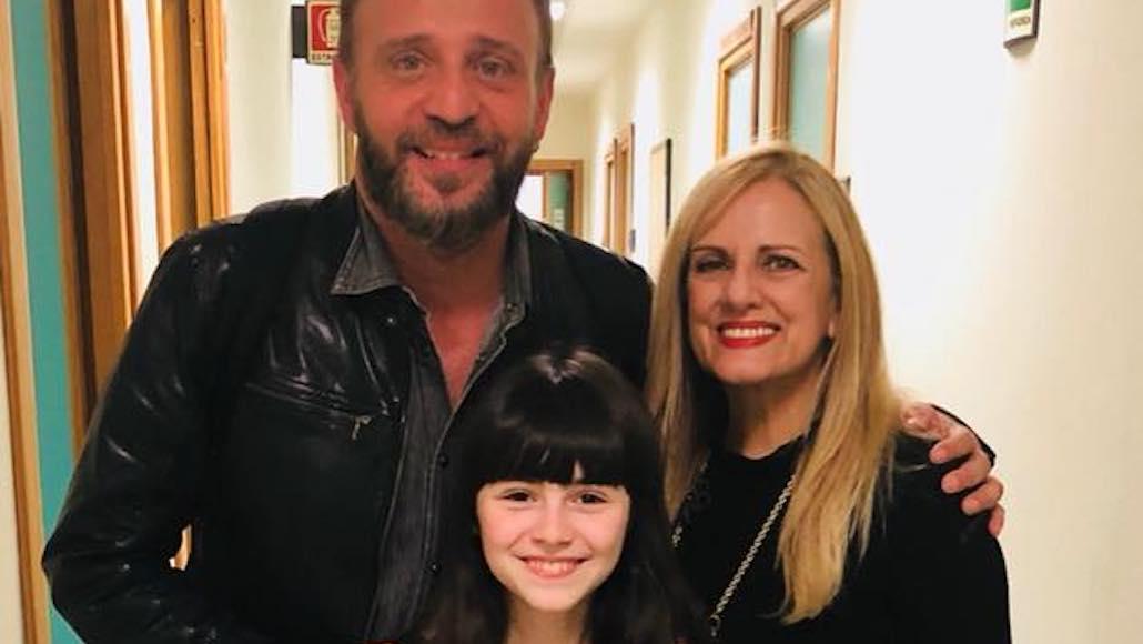 Gianna ai Fatti Vostri con Giò di Tonno e la piccola Giulia Dragotto