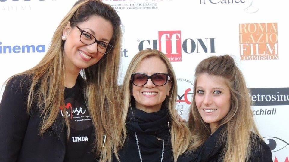 Gianna con le Allieve Linda Maestrini e Soili Mancini