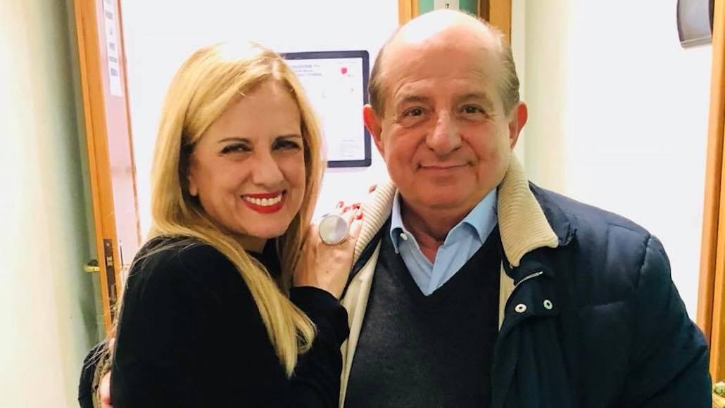 Gianna e Giancarlo Magalli a I Fatti Voastri – Rai 1
