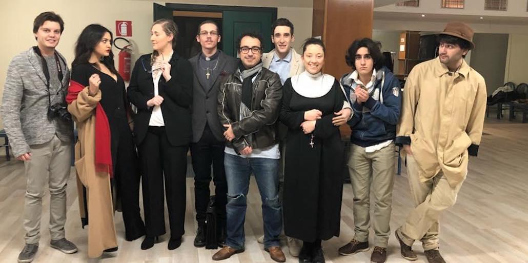 Gli attori Muse dello spettacolo La Pergamena