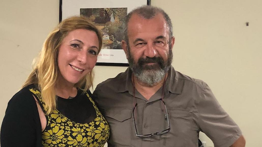 Il regista Francesco Falaschi con l'Allieva Susanna Berti