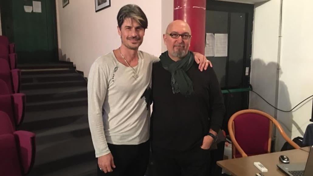 Matteo Setti con Luca Cardeti