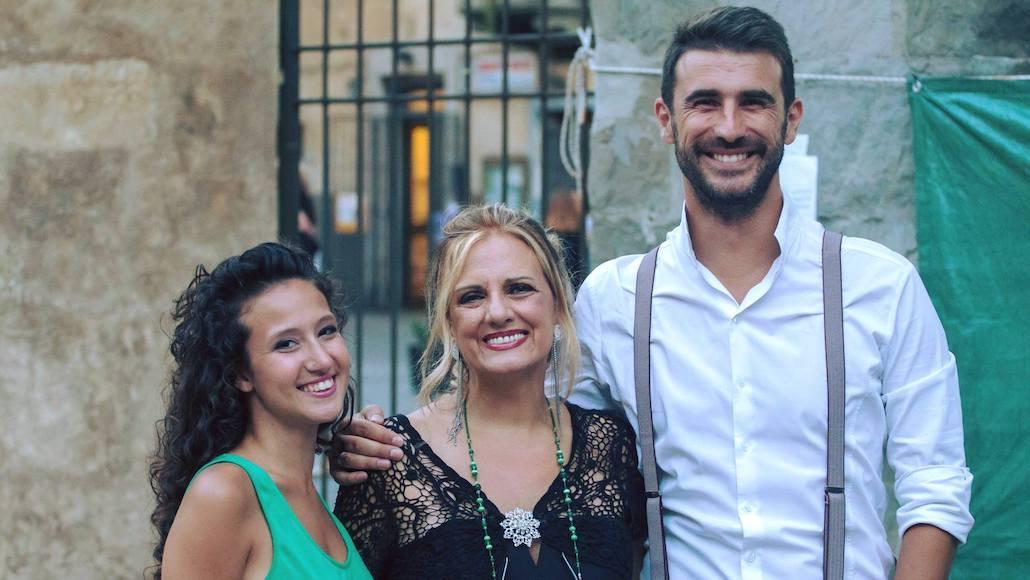 Un bel trio… Gianna con gli Allievi Aurora Pepoli e Marco Gistri