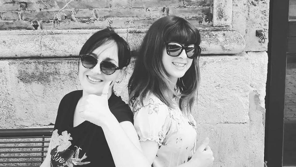 Al corto Giochi di sguardi le Allieve Emanuela Zummo e Giulia Masselli