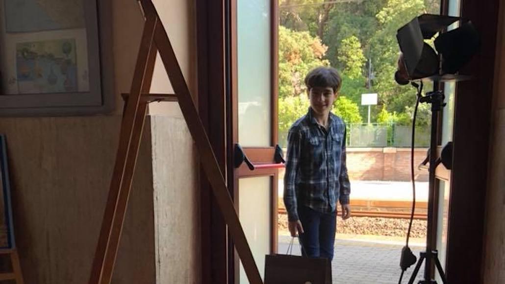 Anche il piccolo … al corto Giochi di sguardi