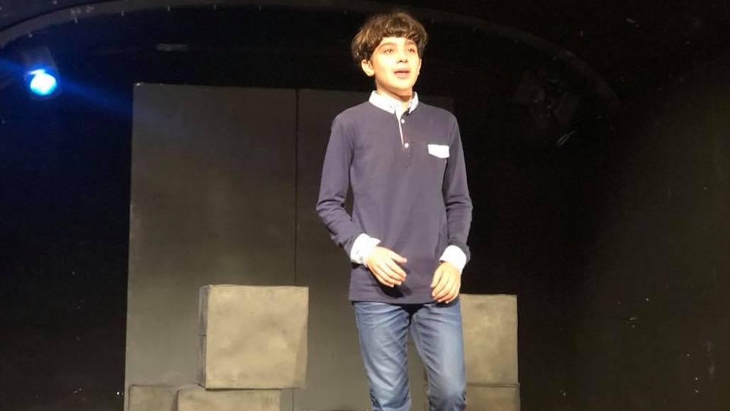 Anche il piccolo Allievo Roberto Girardi recita al Testaccio