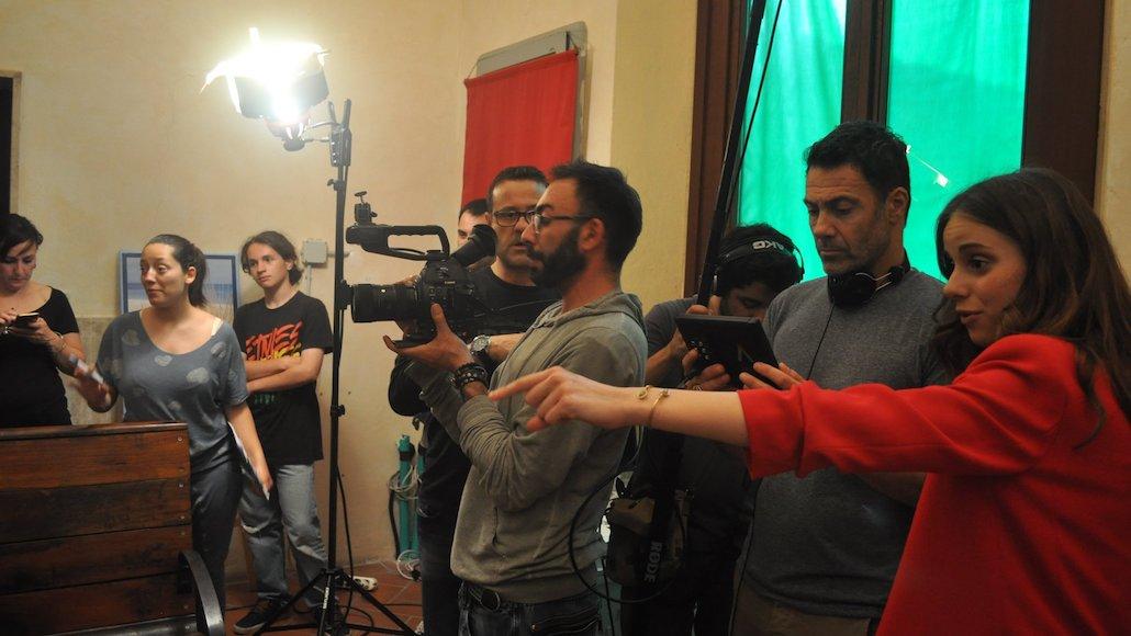 Attenzione al dettaglio durante le riprese