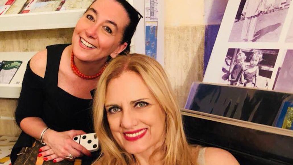Gianna con Simonetta Gori di Studio 900 2