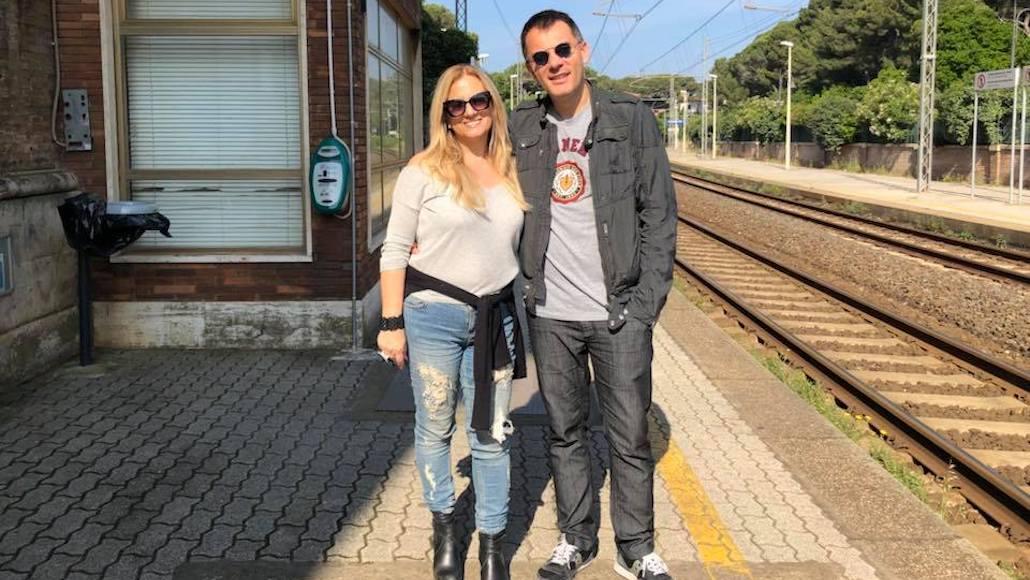 Gianna con Stefano Rabbolini