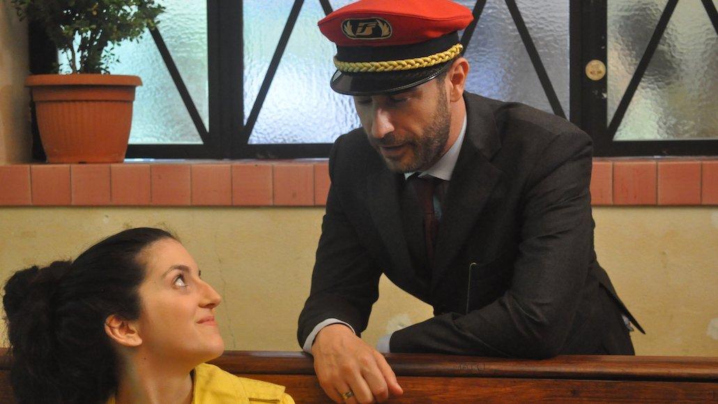 Gli Allievi Marco Gistri e Matilde Maffezzoli durante le riprese