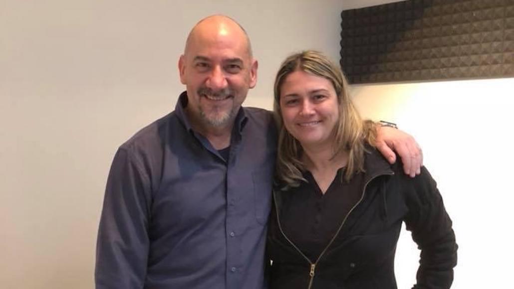 L. Pitteri con Maria Grazia Costarelli