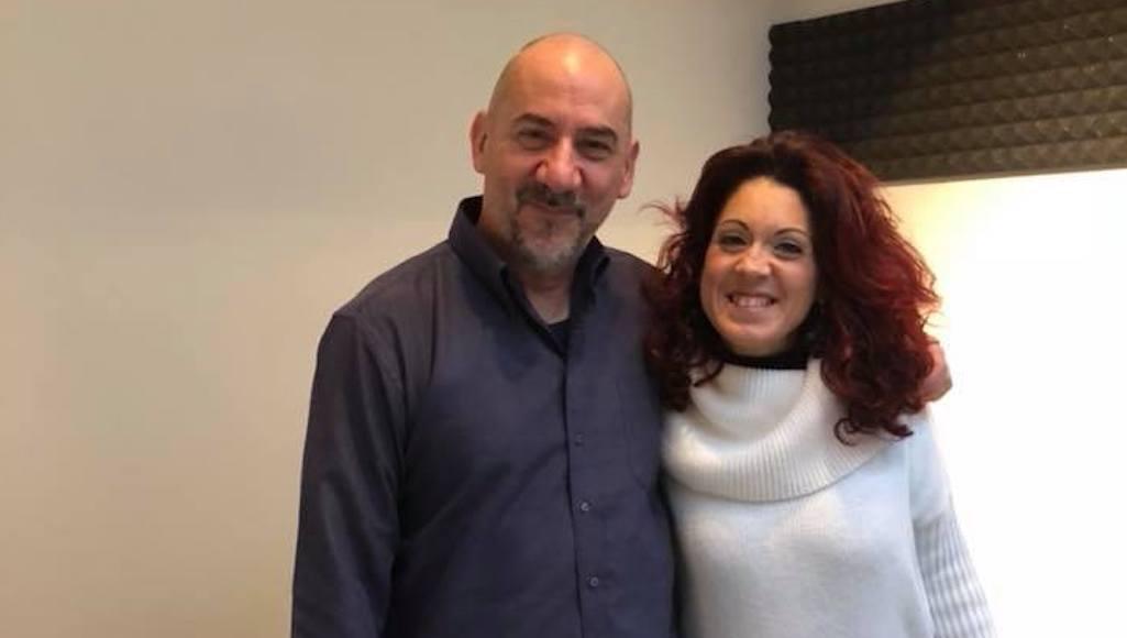 L. Pitteri con Veronica Mancini