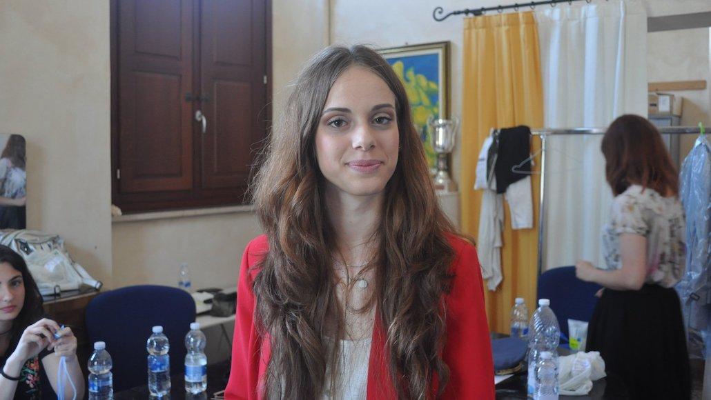 L'Allieva Chiara Dell'Omodarme, prima delle riprese