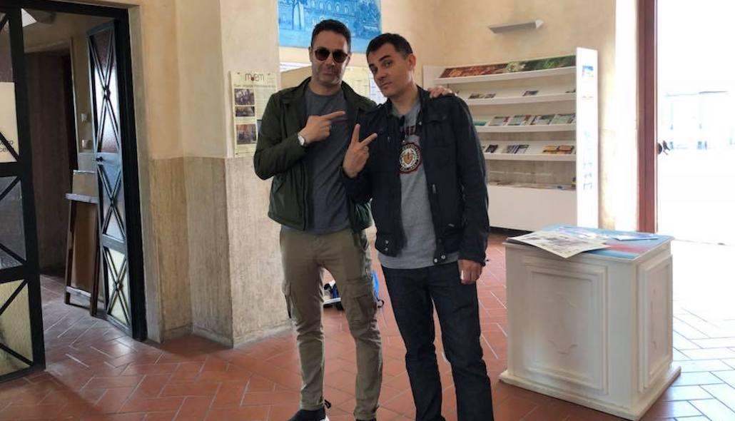 Marco Falaguasta con Stefano Rabbolini