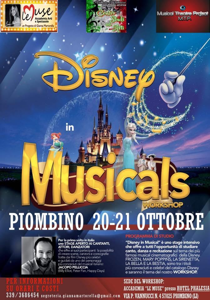 Disney in Musicals - Locandina