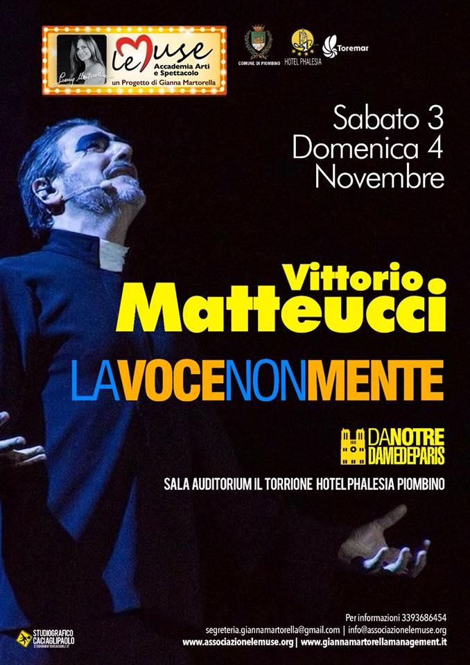 Vittorio Matteucci - Masterclass - Locandina