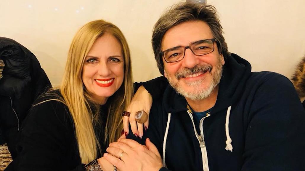 Al Ristorante Il solito posto di Piombino Gianna con Vittorio Matteucci dopo la Masterclass di Musical