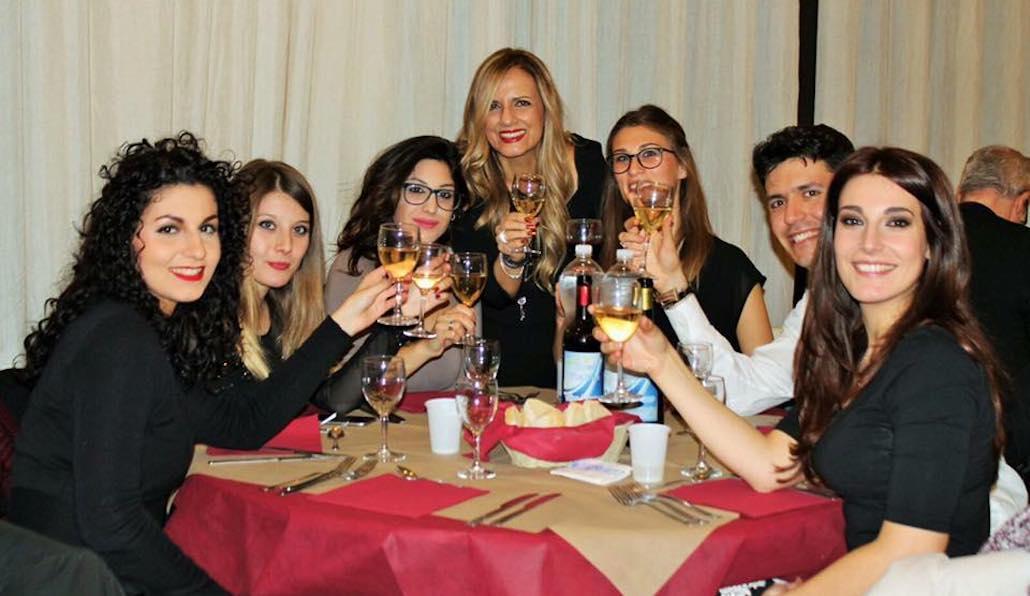 All'Hotel Phalesia di Piombino Le Muse brindano ai propri successi del anno 2017