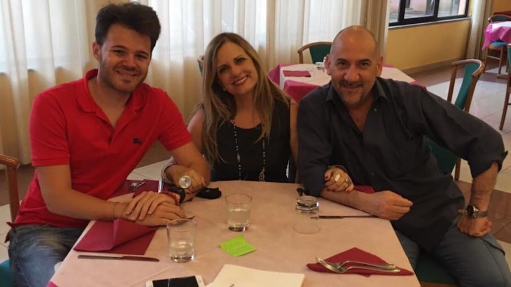 All'Hotel Phalesia pausa pranzo dai corsi di Canto e Musical con Gianna, Marco Vito e Luca Pitteri