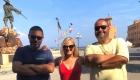 Gianna con Adriano Foresi e Nicola Calocero