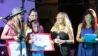 Gianna madrina del Talent Rock in Rio, qui i vincitori Matteo Lupi e Demetra Tegas