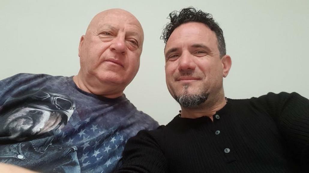Il maestro Enzo Campagnoli con Roberto Mannucci