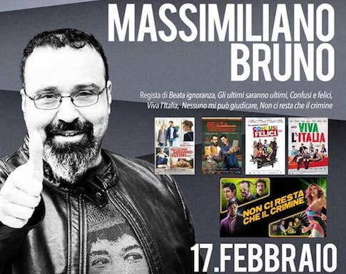 Massimiliano Bruno – 17 febbraio 2019