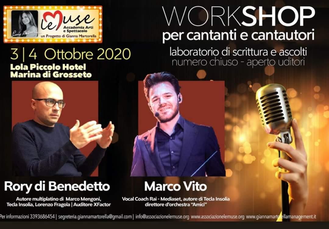 3-4 ottobre 2020 Rory di Benedetto e Marco Vito