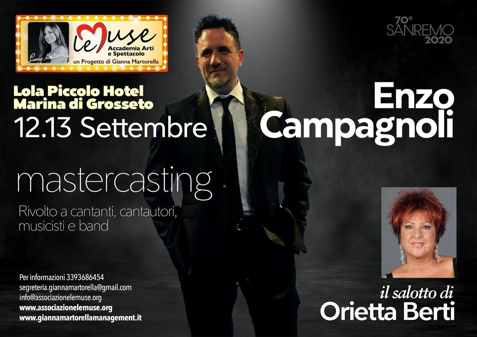 12-13 settembre 2020 canto con Enzo Campagnoli e Orietta Berti