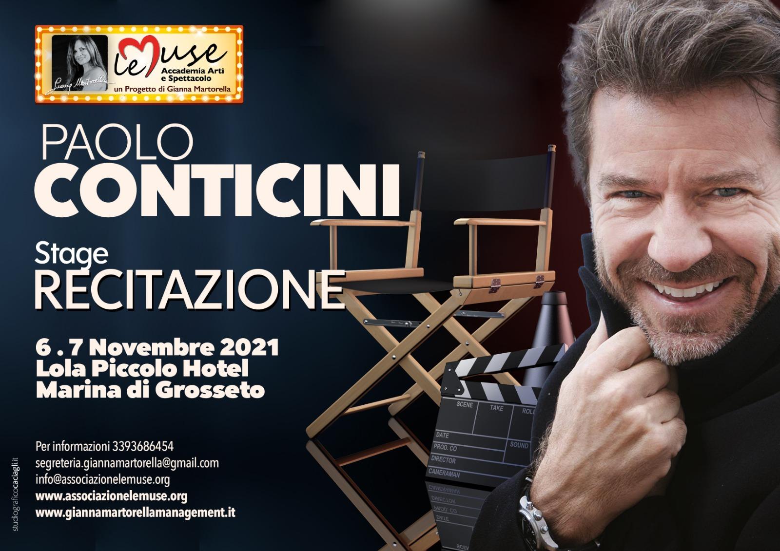 Stage recitazione con Paolo Conticini