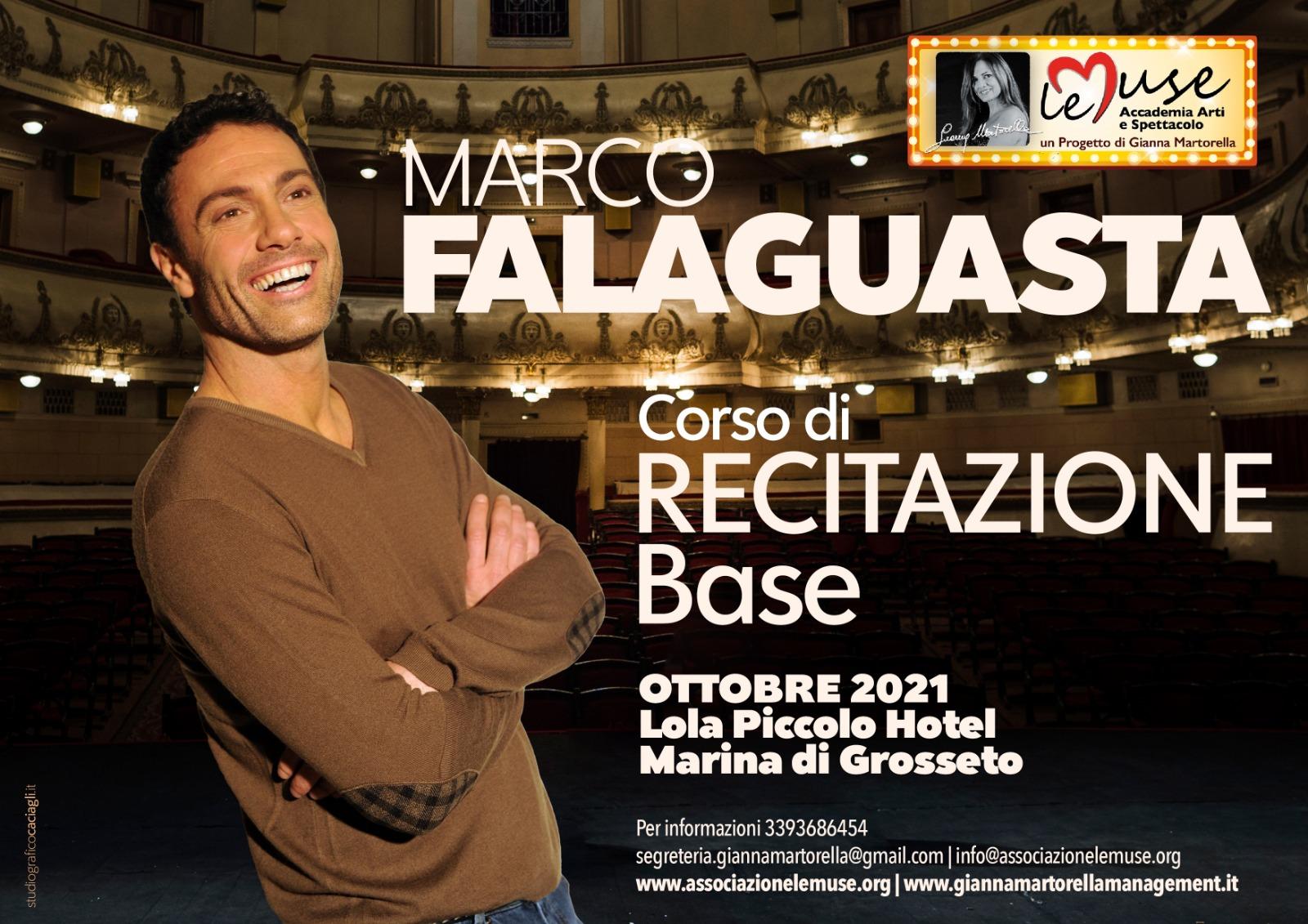 Corso di recitazione base con Marco Falaguasta
